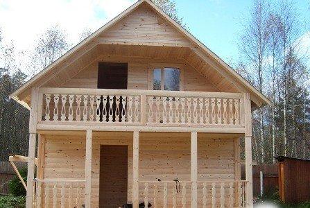 Дачні будинки розраховані на сезонний