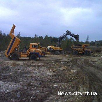 13,4 га лісу на Житомирщині відведено під розробку кар'єру.