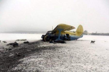 В Житомирській області впав літак АН-2.